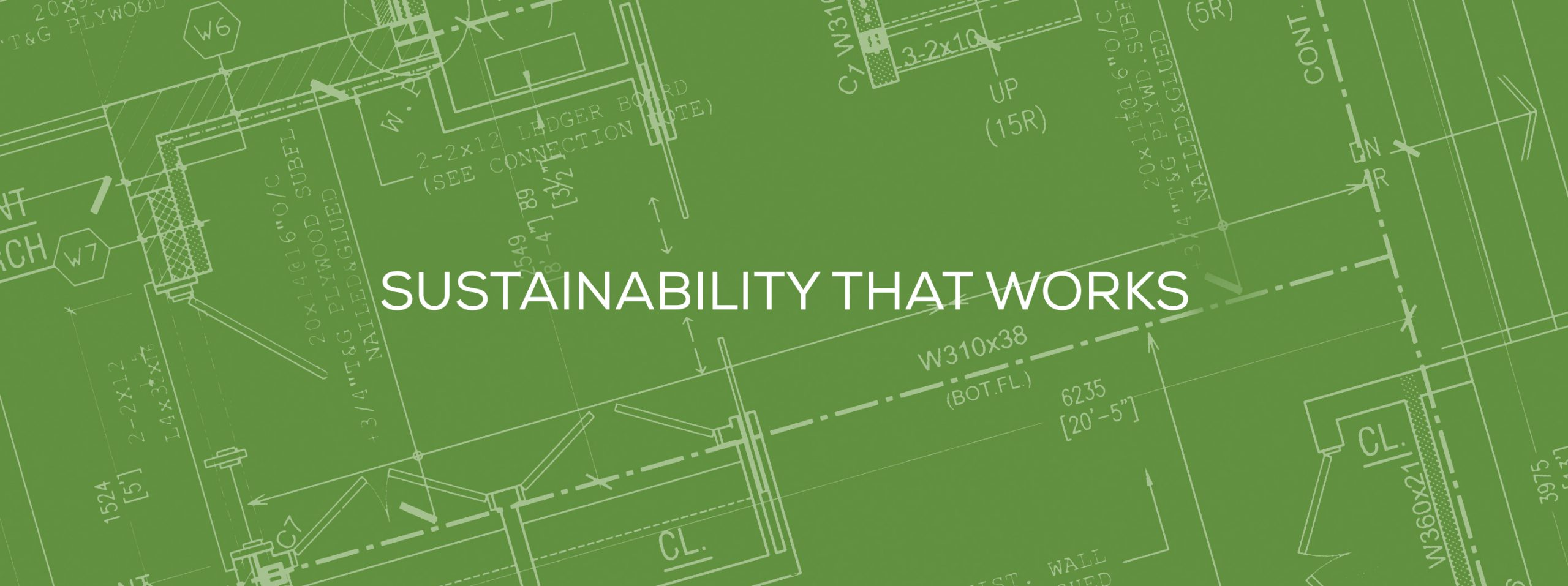 sustainability that works